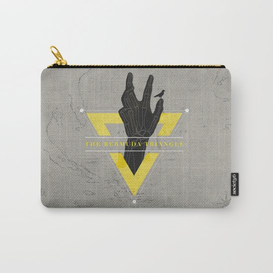 The Bermuda Triangle Carry-All Pouch