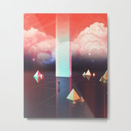 Low cost time travel Metal Print