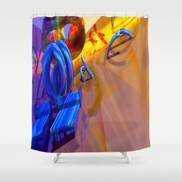 Energizer Flare Shower Curtain