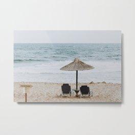 beach vibes vii / malia, greece Metal Print
