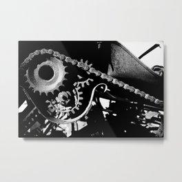 Gearing Up Metal Print