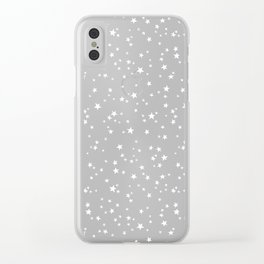 STAR NIGHT Clear iPhone Case