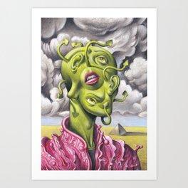 The Incredible Mr. Wlox Art Print