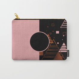Modern Blush Christmas Carry-All Pouch