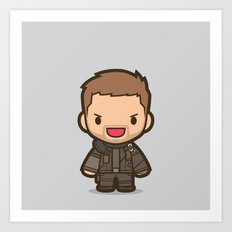 Mad Man Art Print