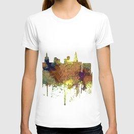 Las Vegas Skyline - Safari Buff T-shirt
