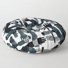 Dark Hands Floor Pillow