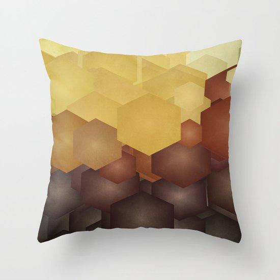 Honey II Throw Pillow