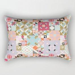 Moroccan Quilt Pattern Rectangular Pillow