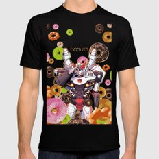 Donuts X-LARGE Black Mens Fitted Tee