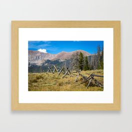 Beautiful Mountain Pictures of Colorado Framed Art Print
