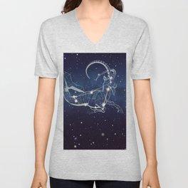 Capricon Star Unisex V-Neck