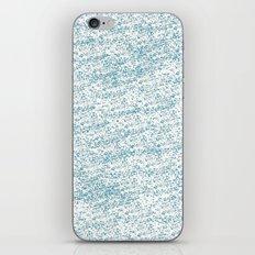 Cool Blue iPhone & iPod Skin