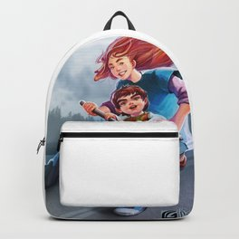 My happy childhood with mummy Backpack