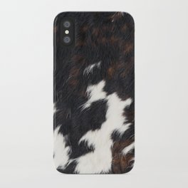 Cowhide Texture iPhone Case