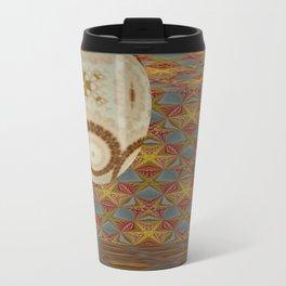 Mandalic Ball Patterned Room Travel Mug