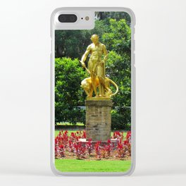 Dionysus In The Garden Clear iPhone Case