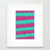 cycle Framed Art Prints featuring cycle by JaneBoston