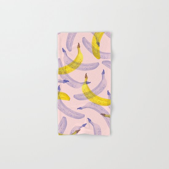 Banana Under Srcutiny #society6 #decor #buyart Hand & Bath Towel