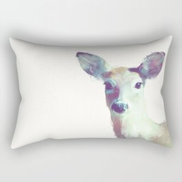 Whitetail No. 1 Rectangular Pillow