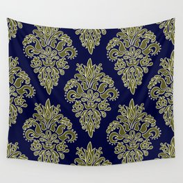 Ornate Vintage Pattern Wall Tapestry