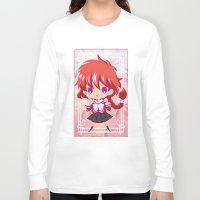 chibi Long Sleeve T-shirts featuring Chibi Hikaru by Neo Crystal Tokyo