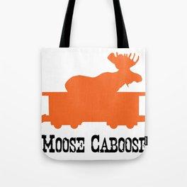 Moose Caboose Tote Bag