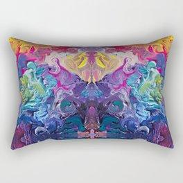 Aurora Swirls Rectangular Pillow