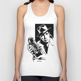 The Maltese Falcon by Peter Melonas Unisex Tank Top