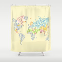 We Are All Writers Shower Curtain