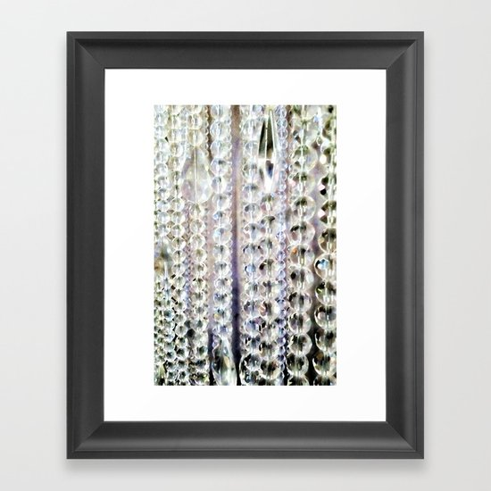 Bling Framed Art Print