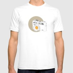 Yashica Electro 35 GSN Camera White Mens Fitted Tee SMALL
