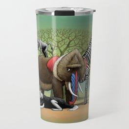 Skin-Swap Safari Travel Mug