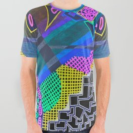 Abstract 2B All Over Graphic Tee