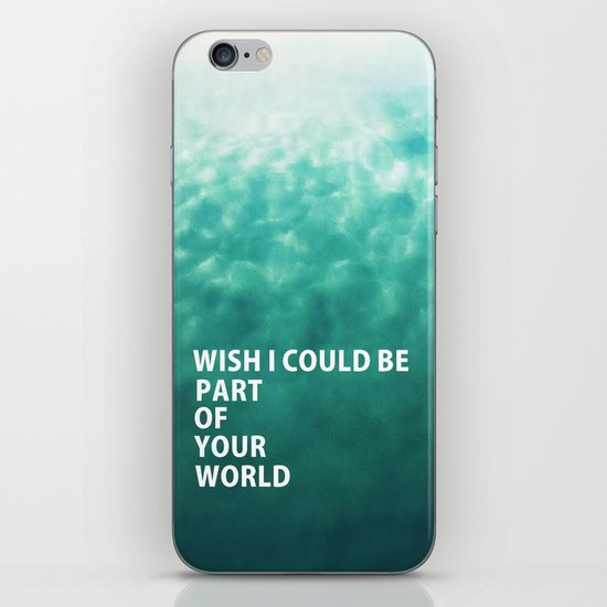 Part of Your World iPhone & iPod Skin