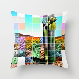 An Abstract Desert I Throw Pillow