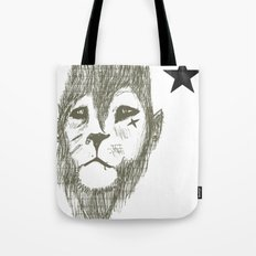 Punkster Lion *remade for tshirts* Tote Bag