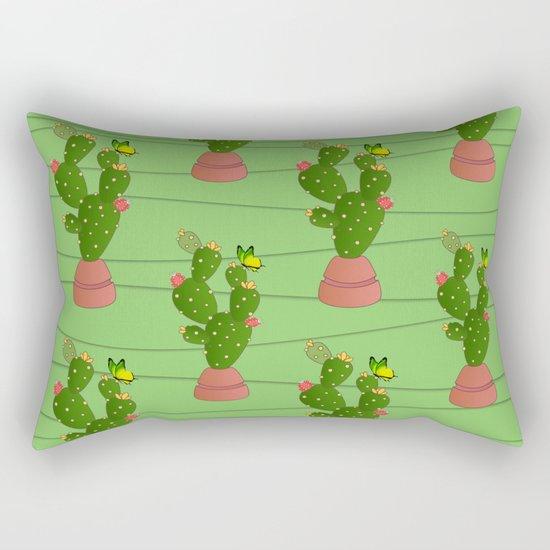 cactus  summer  Rectangular Pillow