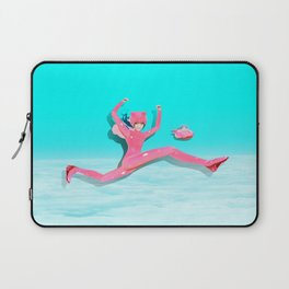 Pink Catwoman Laptop Sleeve