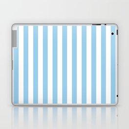 Sky Blue Stripes Laptop & iPad Skin