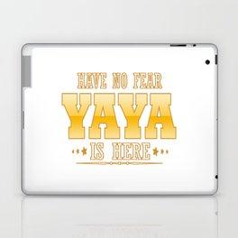YAYA IS HERE Laptop & iPad Skin