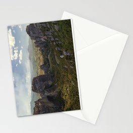 Sunny afternoon in Greek Meteora Stationery Cards
