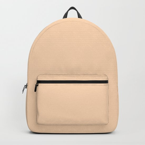 color peach puff Backpack