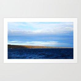Lake Cayuga Art Print