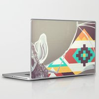 bat Laptop & iPad Skins featuring Bat by K Robinson Photography
