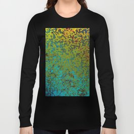 Colorful Corroded Background G292 Long Sleeve T-shirt