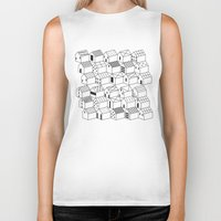 architect Biker Tanks featuring Architect and Little Houses by lllg