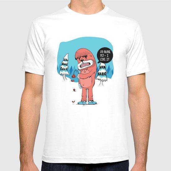 Lonely Yeti T-shirt