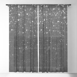 Crystal Bling Strass G283 Sheer Curtain