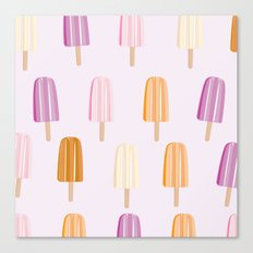 Ice Lolly - Popsicle Canvas Print